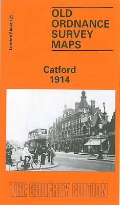 Catford 1914: London Sheet 129.3 - Old O.S. Maps of London (Sheet map, folded)