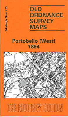 Portobello (West) 1894: Edinburgh Sheet 4.05 - Old O.S. Maps of Edinburgh (Sheet map, folded)