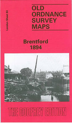 Brentford 1894: London Sheet   083.2 - Old O.S. Maps of London (Sheet map, folded)