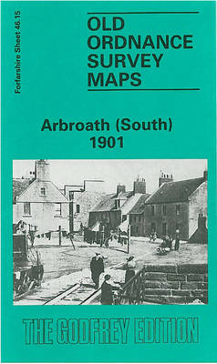 Arbroath (South) 1901: Forfarshire Sheet 46.15 - Old O.S. Maps of Forfarshire (Sheet map, folded)