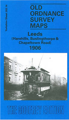 Leeds - Harehills, Buslingthorpe & Chapeltown Road 1906: Yorkshire Sheet 203.14 - Old O.S. Maps of Yorkshire (Sheet map, folded)