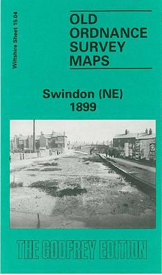 Swindon (NE) 1899: Wiltshire Sheet 15.04 - Old O.S. Maps of Wiltshire (Sheet map, folded)