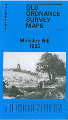 Mossley Hill 1905: Lancashire Sheet 113.08 - Old O.S. Maps of Lancashire (Sheet map, folded)