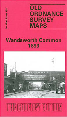 Wandsworth Common 1893: London Sheet 124 - Old O.S. Maps of London (Sheet map, folded)
