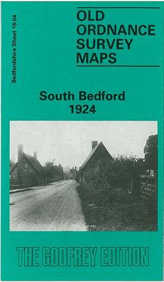 South Bedford 1924: Bedfordshire Sheet 16.04 - Old O.S. Maps of Bedfordshire (Sheet map, folded)