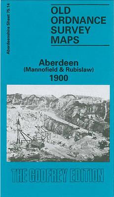 Aberdeen (Mannofield and Rubislaw) 1900: Aberdeenshire Sheet 75.14 - Old O.S. Maps of Aberdeenshire (Sheet map, folded)