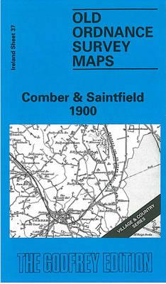 Comber and Saintfield 1900: Irish One Inch Sheet 37 - Old O.S. Maps of Ireland (Sheet map, folded)