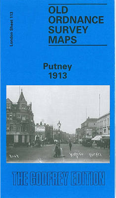 Putney 1913: London Sheet 113.3 - Old O.S. Maps of London (Sheet map, folded)