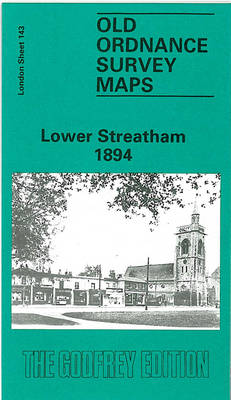 Lower Streatham 1894: London Sheet 143 - Old O.S. Maps of London (Sheet map, folded)