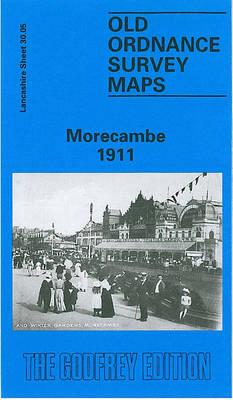 Morecambe 1911: Lancashire Sheet 30.05a - Old O.S. Maps of Lancashire (Sheet map, folded)