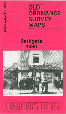 Bathgate 1896: Linlithgowshire Sheet 9.06 - Old O.S. Maps of Linlithgowshire (Sheet map, flat)