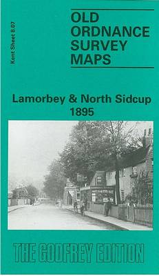 Lamorbey and North Sidcup 1895: Kent Sheet 8.07 - Old O.S. Maps of Kent (Sheet map, folded)