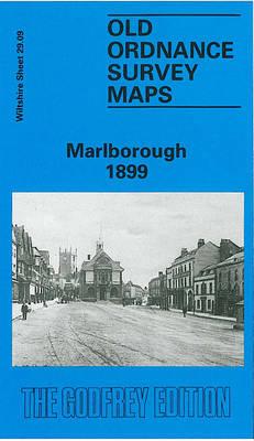 Marlborough 1899: Wiltshire Sheet 29.09 - Old O.S. Maps of Wiltshire (Sheet map, folded)