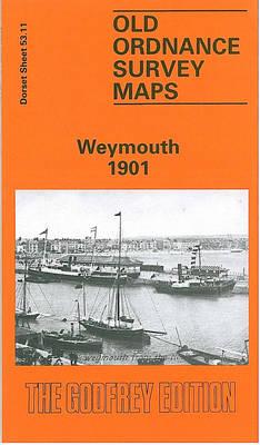 Weymouth 1901: Dorset Sheet 53.11 - Old O.S. Maps of Dorset (Sheet map, folded)