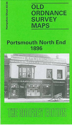 Portsmouth North End 1896: Hampshire Sheet 83.04 - Old O.S. Maps of Hampshire (Sheet map, folded)