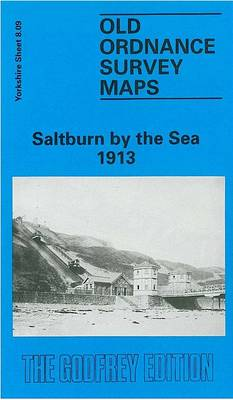 Saltburn by the Sea 1913: Yorkshire Sheet 8.09 - Old O.S. Maps of Yorkshire (Sheet map, folded)