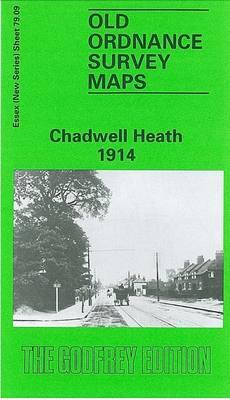 Chadwell Heath 1914: Essex Sheet 79.09 - Old O.S. Maps of Essex (Sheet map, folded)