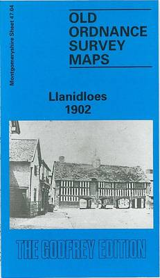 Llanidloes 1902: Montgomeryshire Sheet 47.04 - Old O.S. Maps of Montgomeryshire (Sheet map, folded)