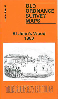 St.John's Wood 1868: London Sheet 048.1 - Old Ordnance Survey Maps of London (Sheet map)