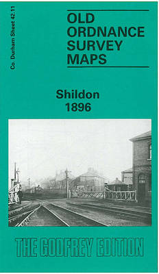 Shildon 1896: Durham Sheet 42.11 - Old Ordnance Survey Maps of County Durham (Sheet map, folded)