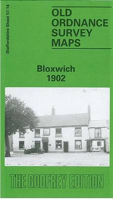 Bloxwich 1902: Staffordshire Sheet 57.14 - Old O.S. Maps of Staffordshire (Sheet map, folded)
