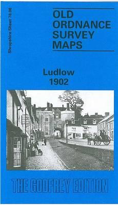 Ludlow 1901: Shropshire Sheet 78.08 - Old O.S. Maps of Shropshire (Sheet map, folded)