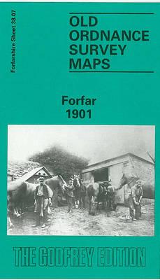 Forfar 1901: Forfarshire Sheet 38.07 - Old O.S. Maps of Forfarshire (Sheet map, folded)