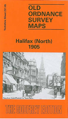 Halifax North 1905: Yorkshire Sheet 231.05a - Old O.S. Maps of Yorkshire (Sheet map, folded)