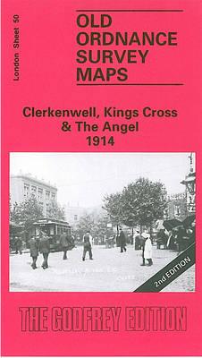 Clerkenwell, King's Cross & Angel 1913: London Sheet 050.3 - Old Ordnance Survey Maps of London (Sheet map, folded)