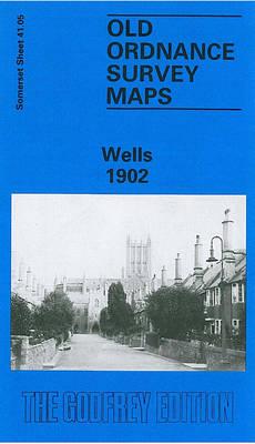 Wells 1902: Somerset Sheet 41.05 - Old O.S. Maps of Somerset (Sheet map, folded)