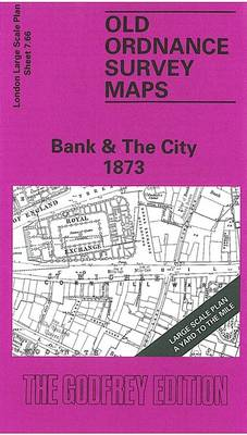 Bank and the City 1873: London Large Scale Sheet 07.66 - Old Ordnance Survey Maps of London - Yard to the Mile (Sheet map, folded)