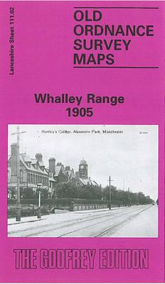 Whalley Range 1905: Lancashire Sheet 111.02 - Old O.S. Maps of Lancashire (Sheet map, folded)