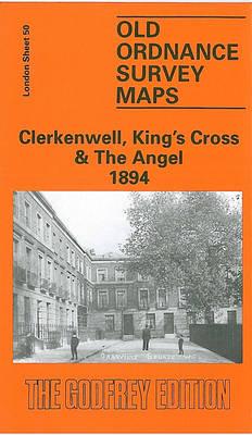 Clerkenwell, King's Cross and the Angel 1894: London Sheet 050.2 - Old Ordnance Survey Maps of London (Sheet map, folded)