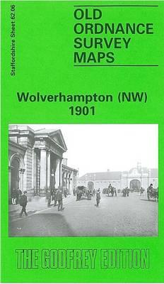Wolverhampton (North West) 1901: Staffordshire Sheet 62.06 - Old O.S. Maps of Staffordshire (Sheet map, folded)