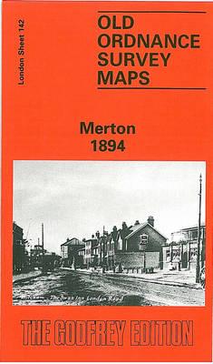 Merton 1894: London Sheet 142 - Old O.S. Maps of London (Sheet map, folded)