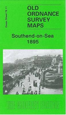 Southend-on-Sea 1895: Essex Sheet 78.11 - Old O.S. Maps of Essex (Sheet map, folded)
