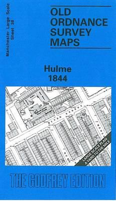 Hulme 1844: Manchester Sheet 38 - Old Ordnance Survey Maps of Manchester (Sheet map, folded)