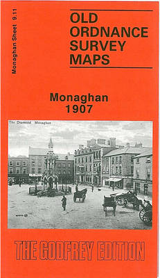 Monaghan 1907: Co Monaghan Sheet 9.11 - Old O.S. Maps of Monaghan (Sheet map, folded)