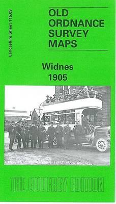 Widnes 1905: Lancashire Sheet 115.09 - Old O.S. Maps of Lancashire (Sheet map, folded)