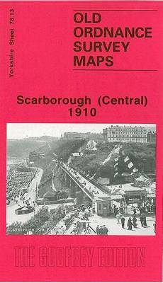 Scarborough (Central) 1910: Yorkshire Sheet 78.13 - Old O.S. Maps of Yorkshire (Sheet map, folded)