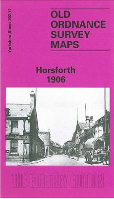 Horsforth 1906: Yorkshire Sheet 202.11 - Old O.S. Maps of Yorkshire (Sheet map, folded)