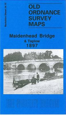 Maidenhead Bridge and Taplow 1897: Berkshire Sheet 24.15 - Old O.S. Maps of Berkshire (Sheet map, folded)