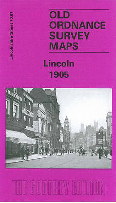 Lincoln 1905: Lincolnshire Sheet 070.07 - Old Ordnance Survey Maps of Lincolnshire (Sheet map, folded)
