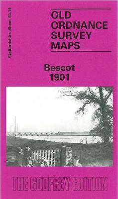 Bescot 1901: Staffordshire Sheet 63.14 - Old Ordnance Survey Maps of Staffordshire (Sheet map, folded)