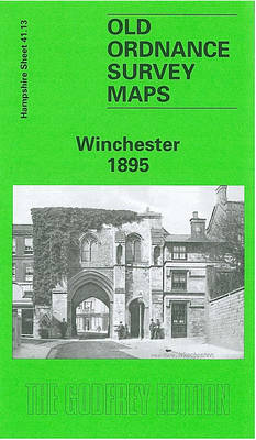 Winchester 1895: Hampshire Sheet 41.13 - Old O.S. Maps of Hampshire (Sheet map, folded)