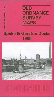 Speke and Garston Docks 1905: Lancashire Sheet 113.16 - Old O.S. Maps of Lancashire (Sheet map, folded)