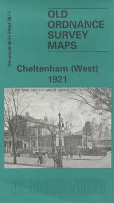Cheltenham (West) 1921: Gloucestershire Sheet 26.08 - Old O.S. Maps of Gloucestershire (Sheet map, folded)