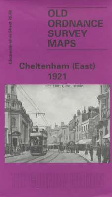 Cheltenham (East) 1921: Gloucestershire Sheet 26.08 - Old O.S. Maps of Gloucestershire (Sheet map, folded)