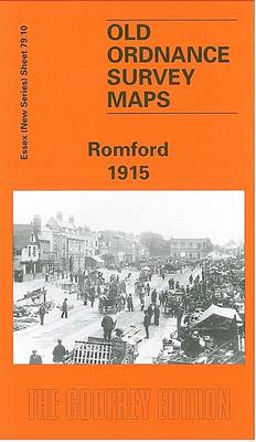 Romford 1916: Essex Sheet 79.10 - Old O.S. Maps of Essex (Sheet map, folded)