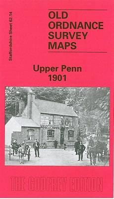 Upper Penn 1901: Staffordshire Sheet 62.14 - Old O.S. Maps of Staffordshire (Sheet map, folded)